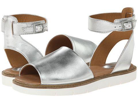 22ac992b0bdd68 Clarks Lydie Hala Silver Leather - Zappos.com Free Shipping BOTH Ways