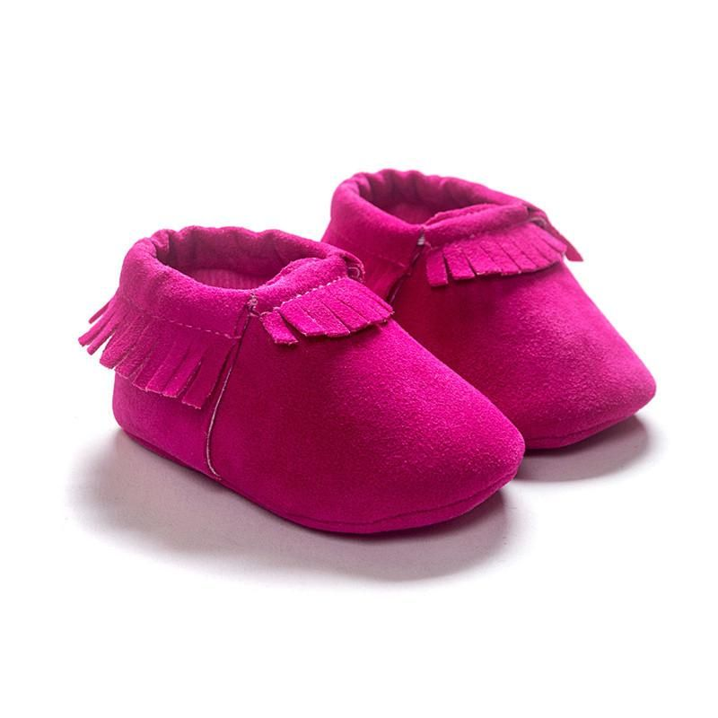 Optimal Cute Infant Toddler Baby Boy Girl Soft Sole Slip-On Crib Shoes Size 10-13cm