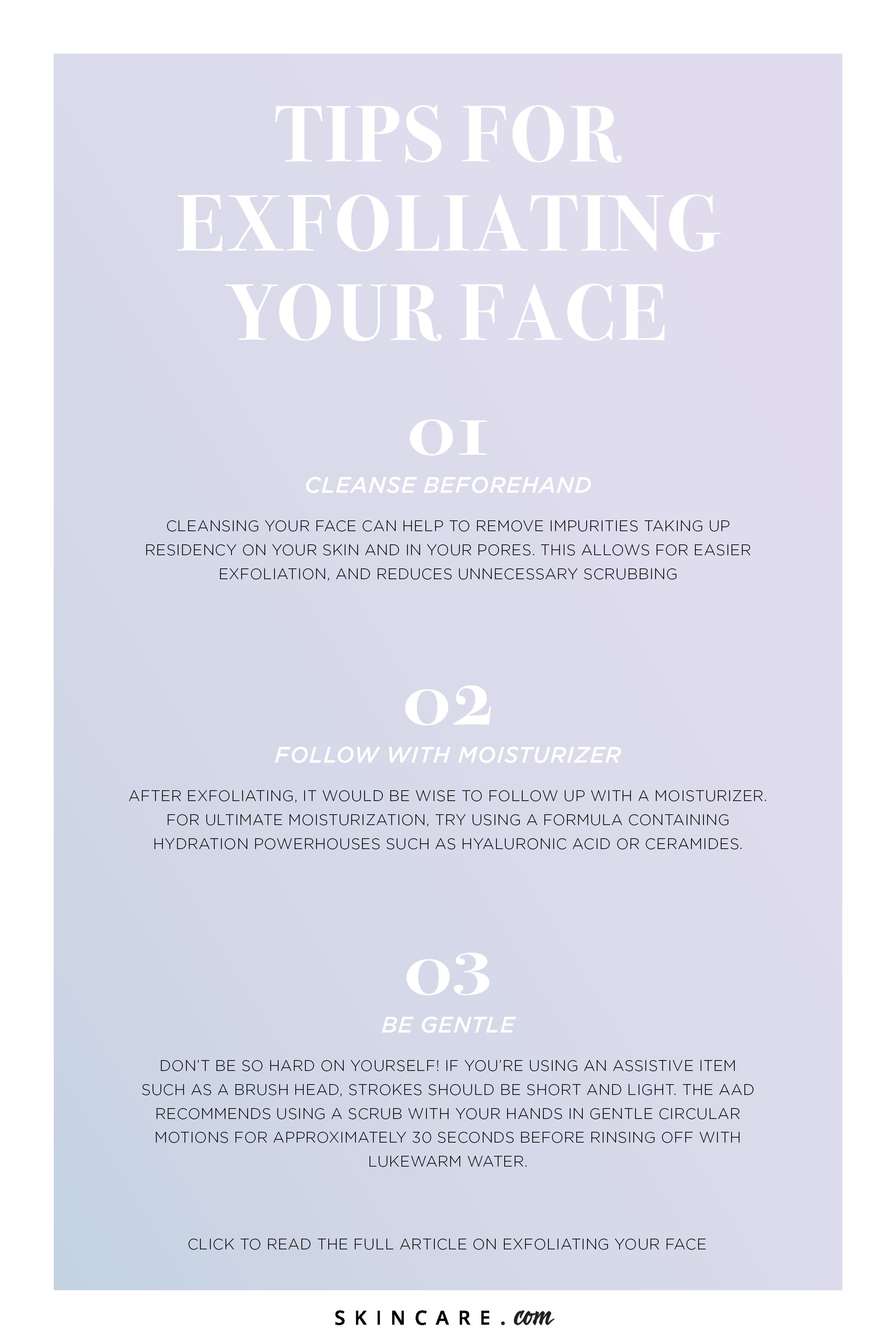 Ask The Expert How Often Should You Exfoliate Your Face Skincare Com By L Oreal Skin Care Tips Exfoliating Skin Care Routine