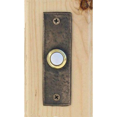 Found it at Wayfair - Classic Slim Doorbell Button  sc 1 st  Pinterest & Found it at Wayfair - Classic Slim Doorbell Button | Doorbell ...
