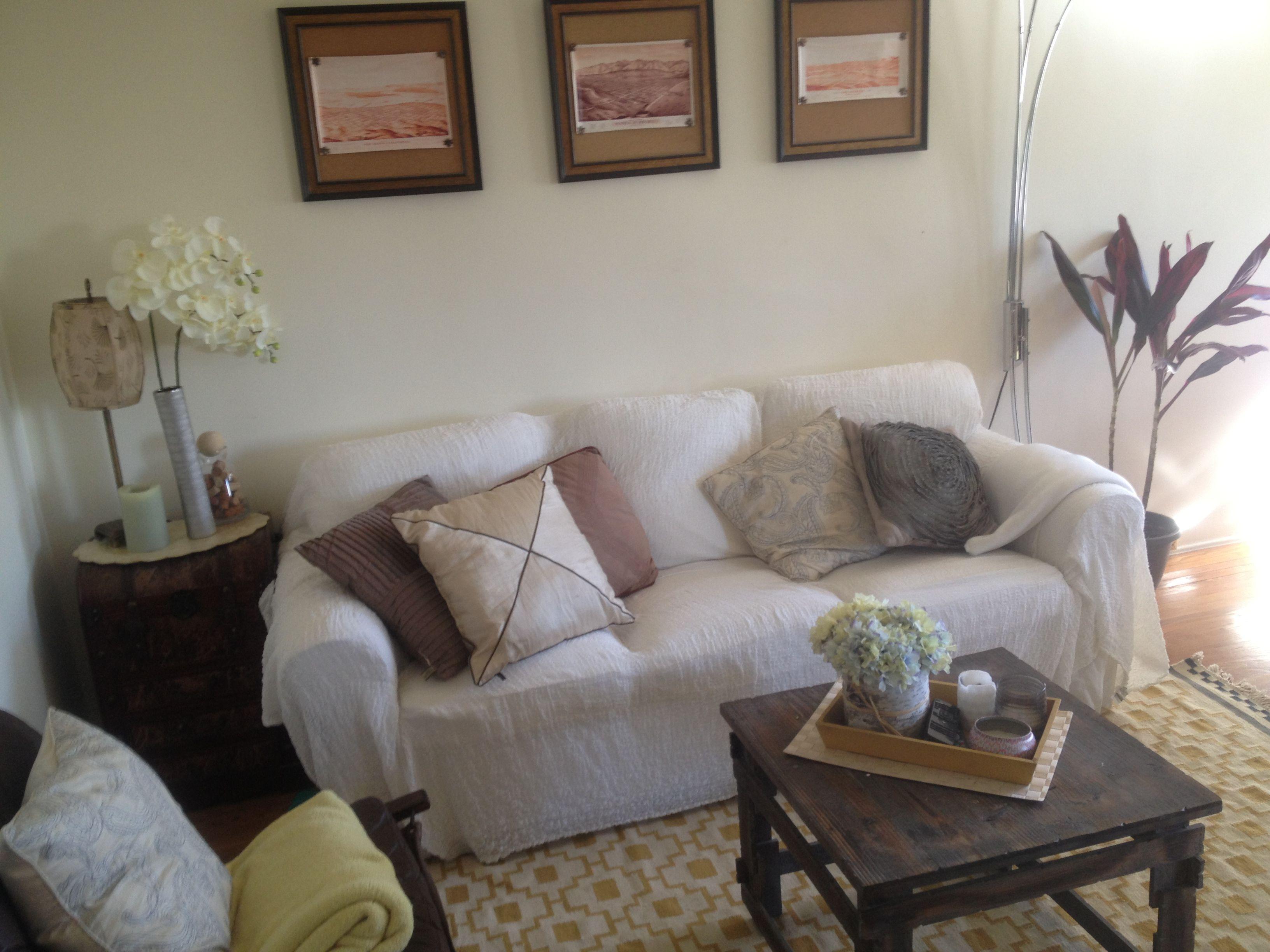 DIY living room.