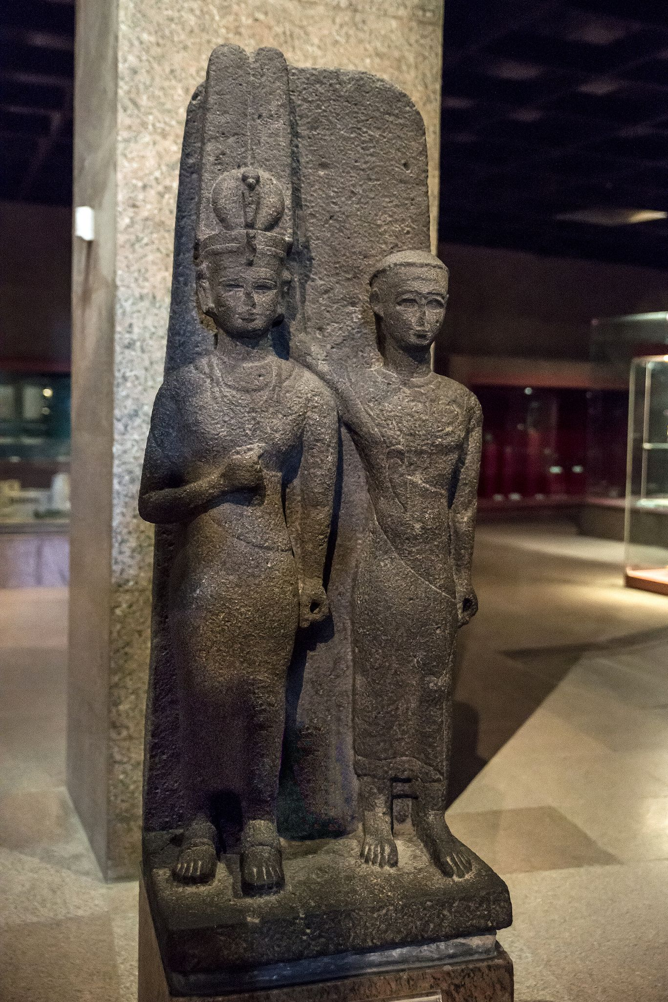 Ancient Gaia Statue statue of meroitic queen and prince | statue, ancient