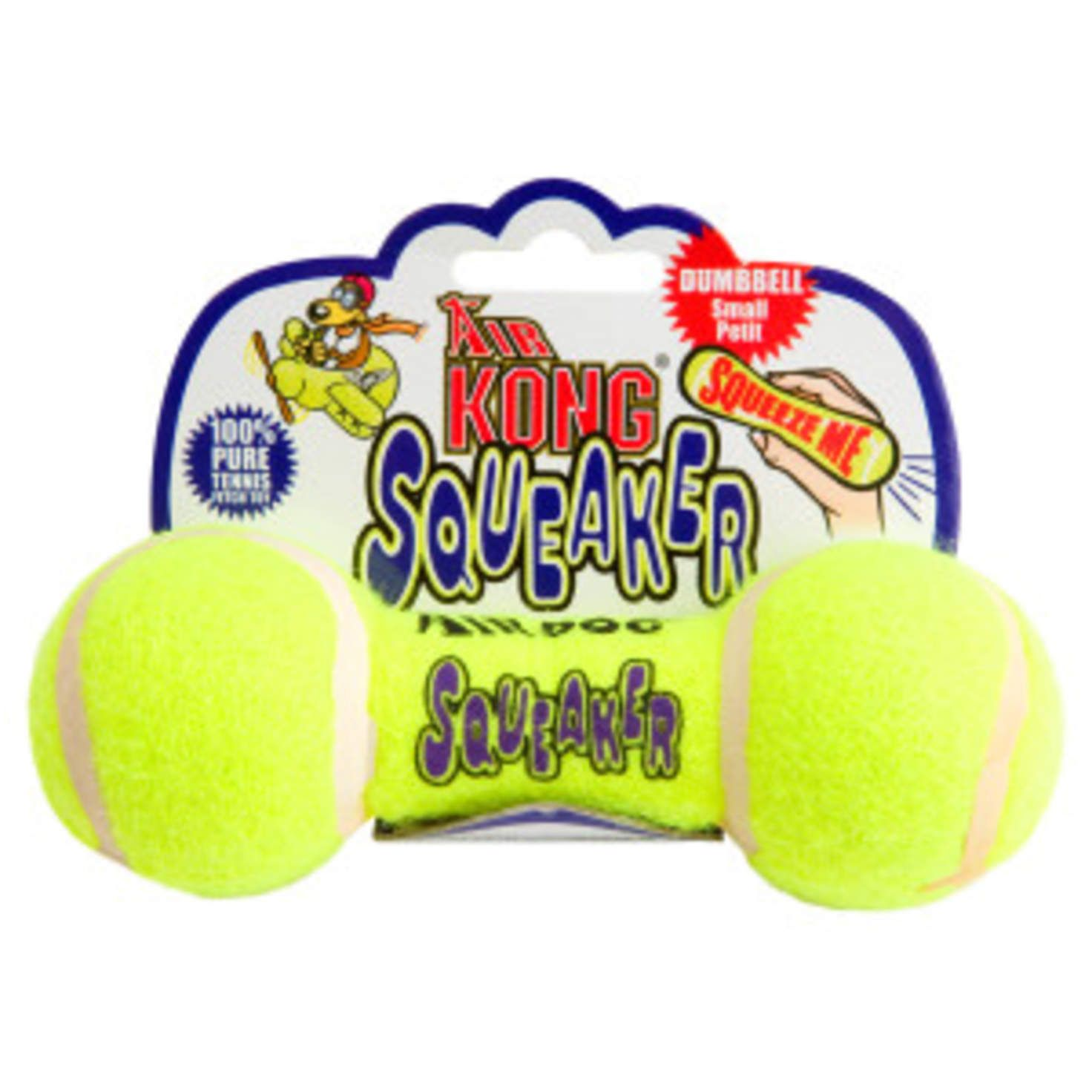 Dog toys images  KONG Air Dog Dumbbell Squeaker Dog Toy  Itus a Dogus Life  Pinterest