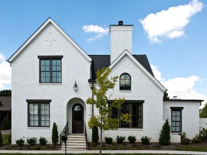 10 Beautiful Black White Exteriorsbecki Owens E X T E R I O R S - Beautifully-painted-houses-exterior