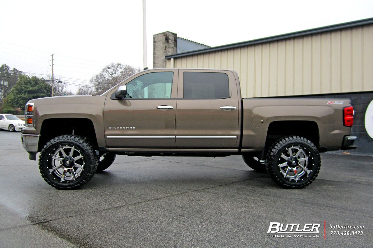 Chevrolet Silverado With 22in Fuel Maverick Wheels Exclusively From Butler Tires And Wheels In Atlanta Ga Chevrolet Silverado Chevy Trucks Silverado Chevrolet