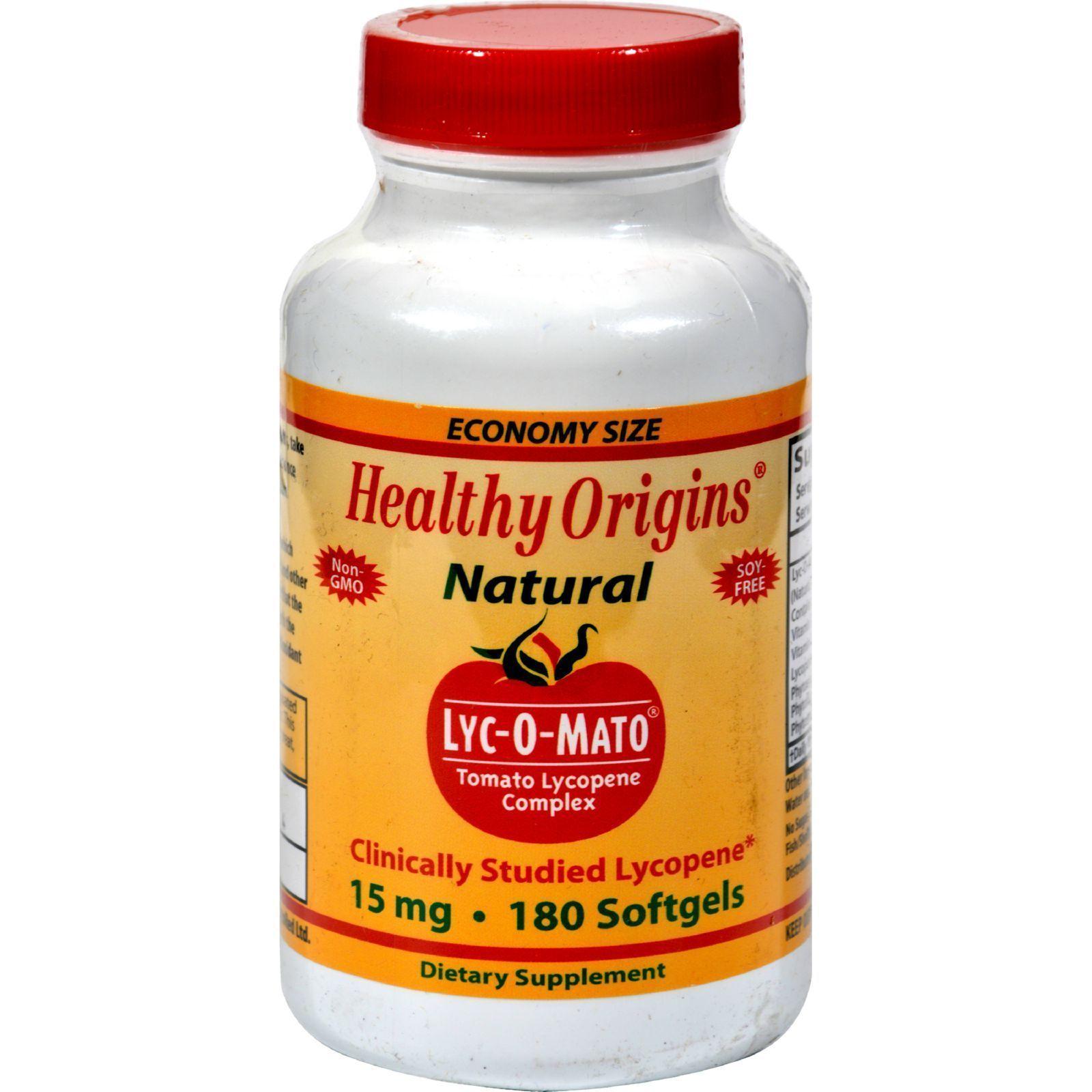 Healthy Origins Lyc O Mato 15 Mg 180 Softgels Healthy