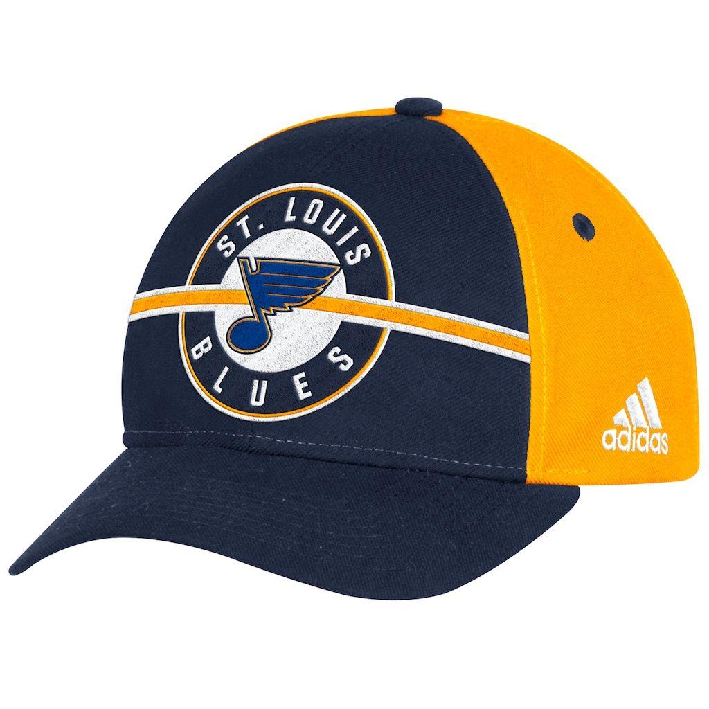 wholesale dealer 50811 514c6 Adult Adidas St. Louis Blues Structured Adjustable Cap, Men s, Blue