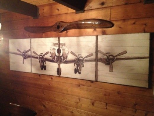 Wall Decor Ideas With Props Get Your Customised Wooden Propeller