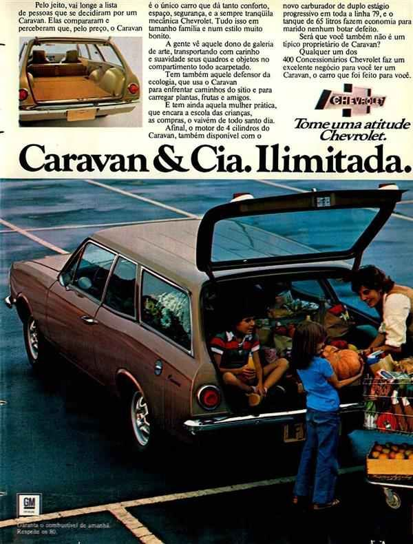 1979 Chevrolet Caravan Brasil Carros E Caminhoes Carro