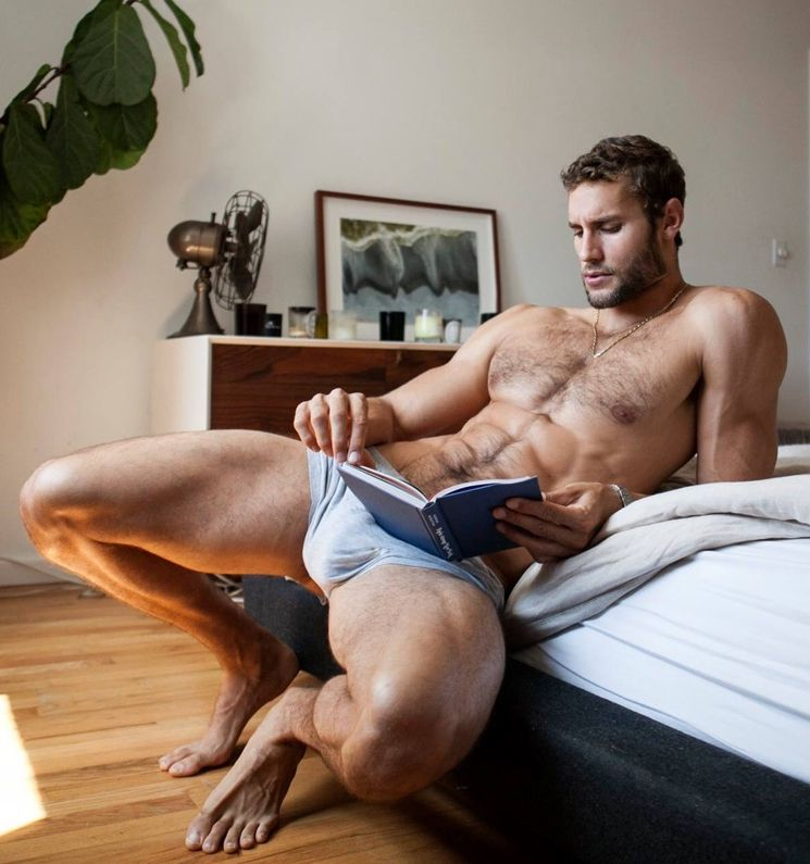 heiße schwule Männer im Bett