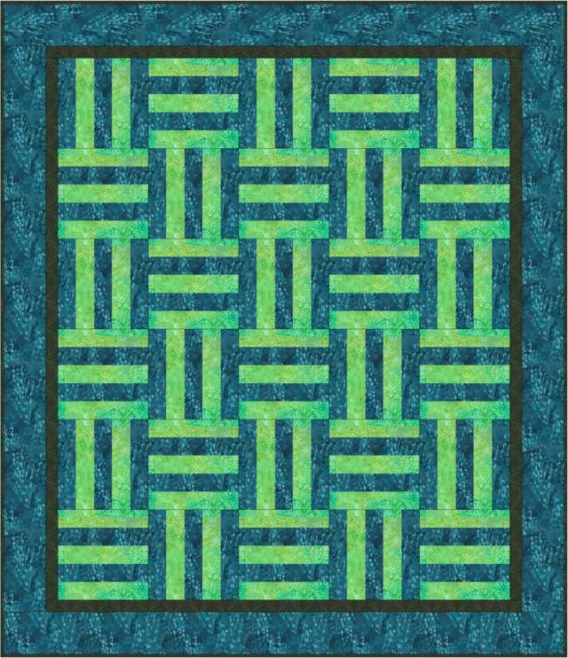 It's Easy to Make a Rail Fence Baby Quilt | Rail fence, Baby quilt ... : fence rail quilt pattern instructions - Adamdwight.com