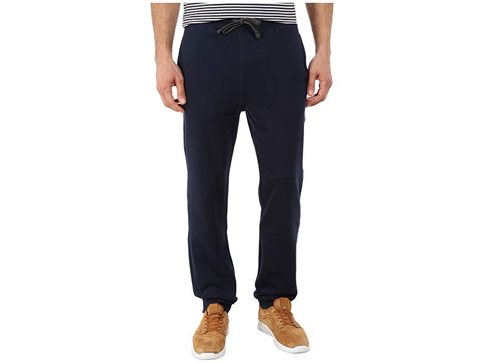 Nautica Knit Pants w Rib Cuff Navy Mens Casual Pants Sit back and relax in comfortable Nautica sweatpants Ultrasoft interior provides warmth and comfort Elastic waistband...