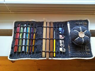 Crochet DIY, hæklet etui