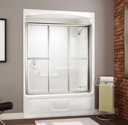 MAAX Studio 1 Piece Tub Shower Including Roof Cap Bath Shower Modul 100099