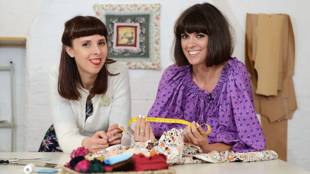 Dawn o 39 porter learns how to tailor vintage clothes video for Dawn o porter baby pictures