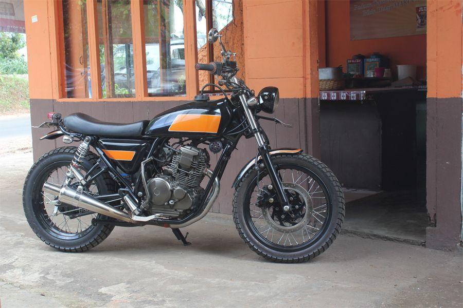 Modifikasi Jap Style Yamaha Scorpio