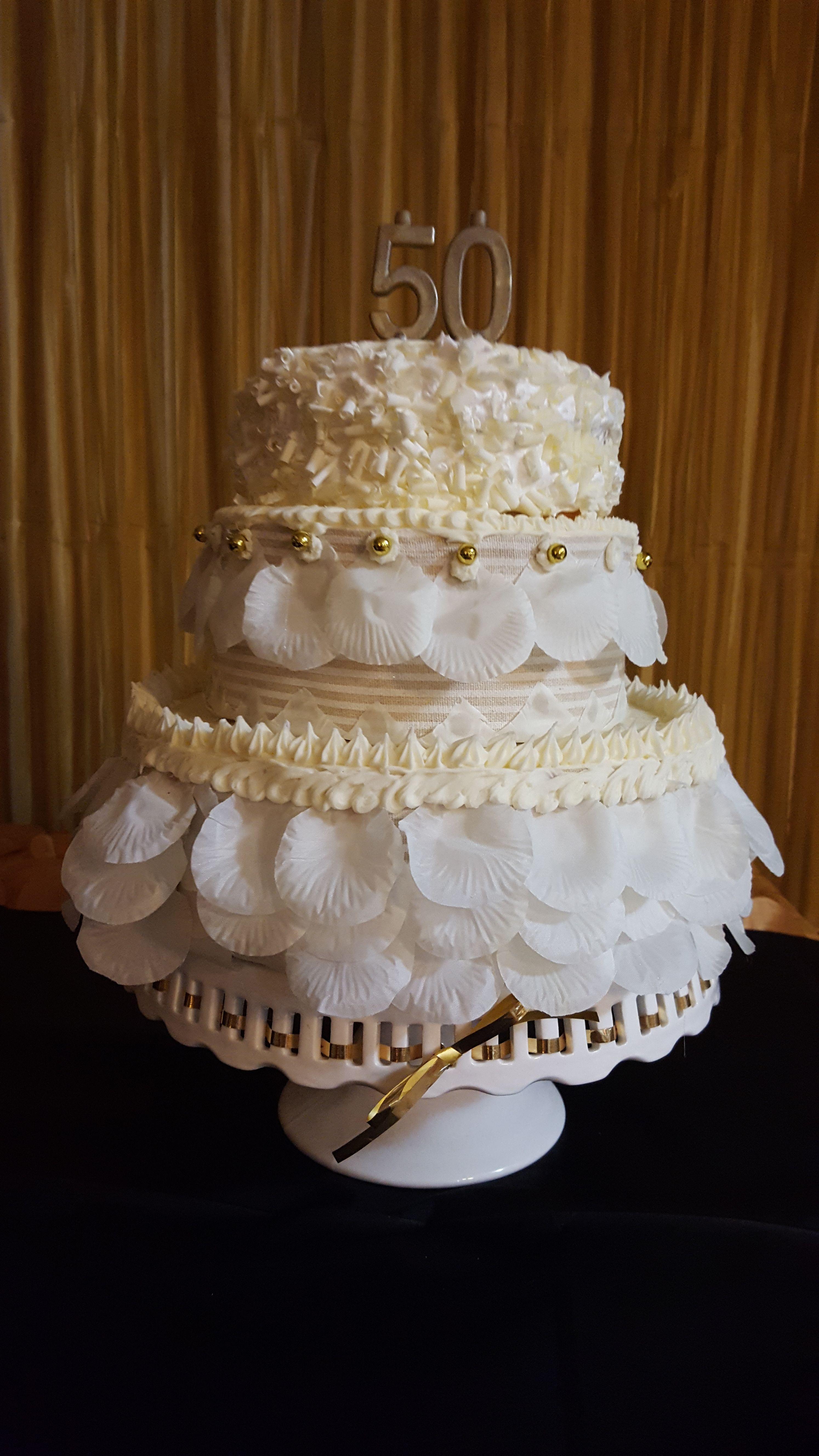 50th Birthday Cake For Women 50th Birthday Pinterest