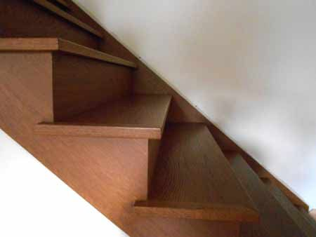 Prefinished Hand Scraped White Oak Stair Treads   All Of Our Stair Treads  Are Made From