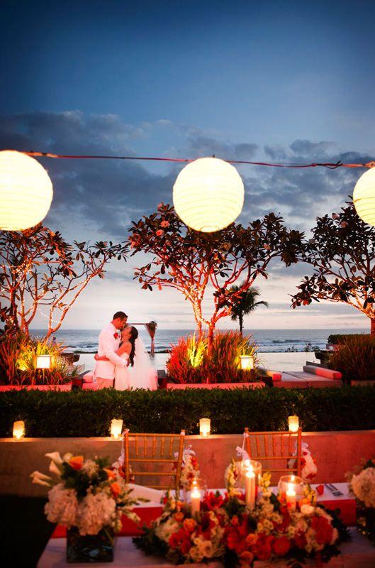 Destination wedding.