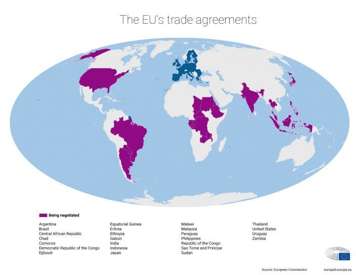More Eu Trade Agreements In The Pipeline The Voters Post Pinterest