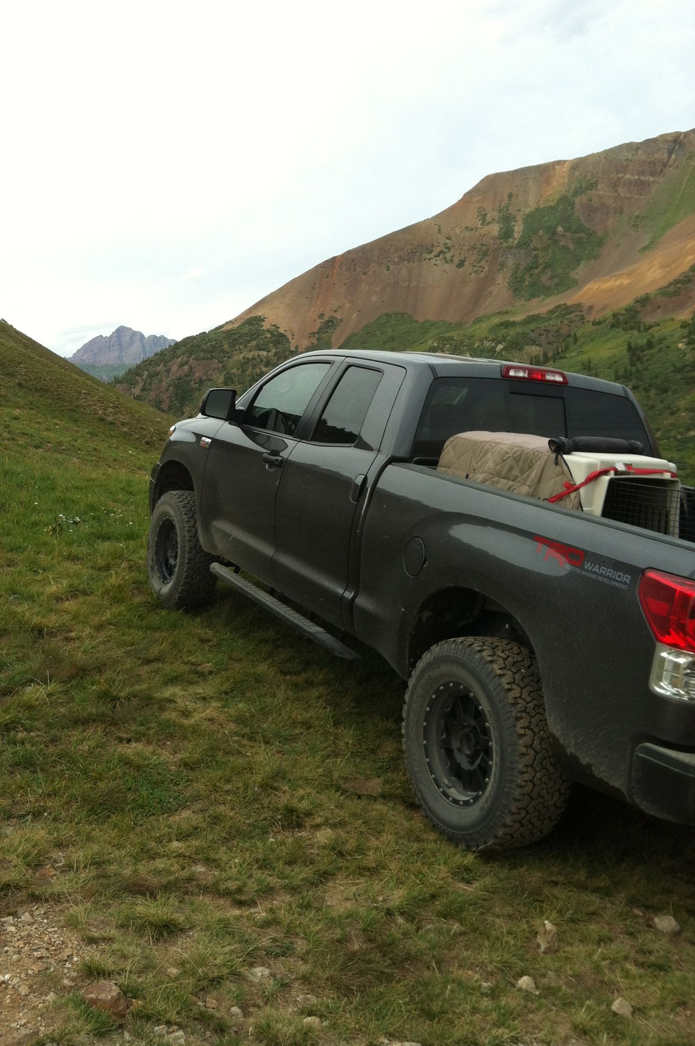 Motor Trend Justin Reiter and his ICON Equipped Tundra