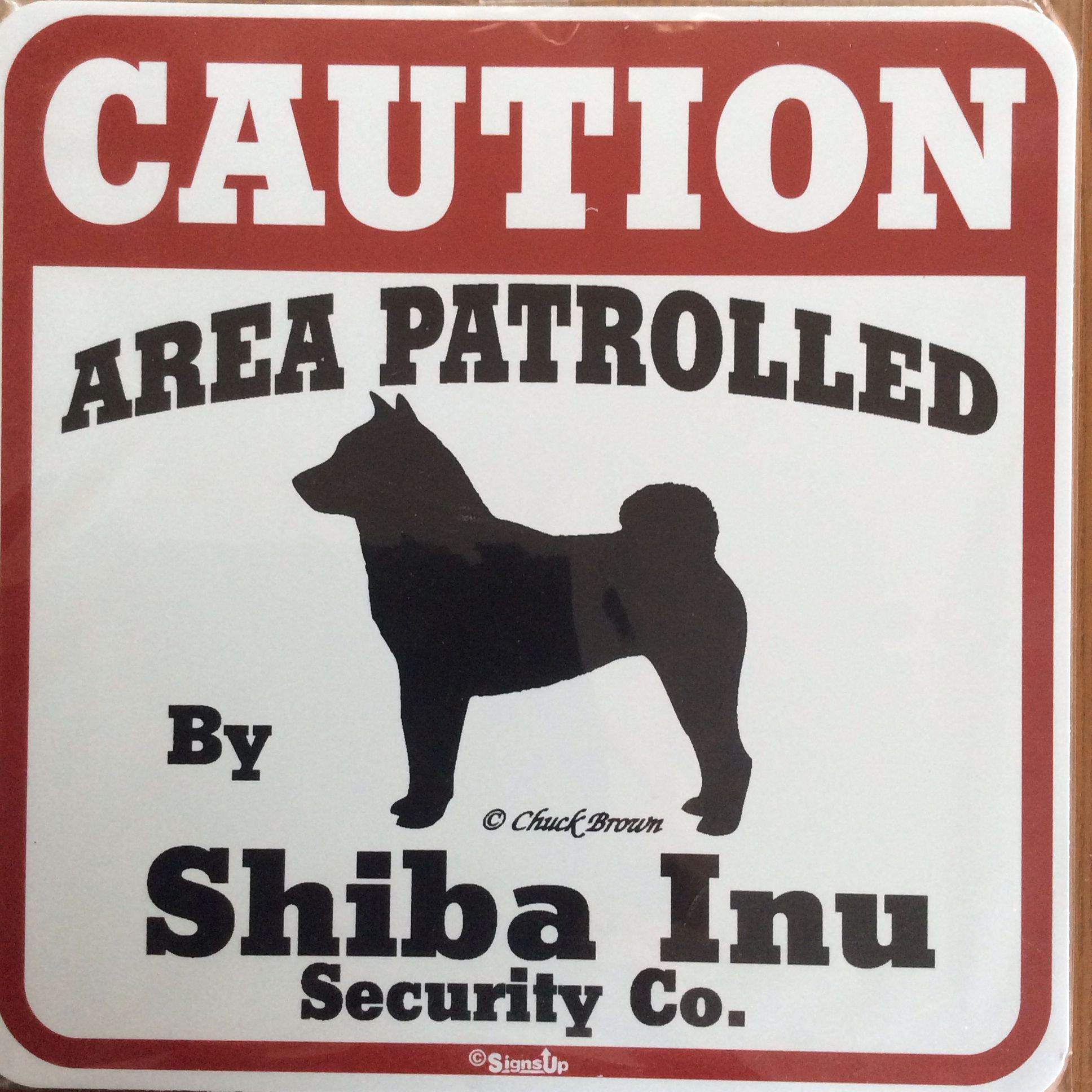 Area patrolled by shiba inu