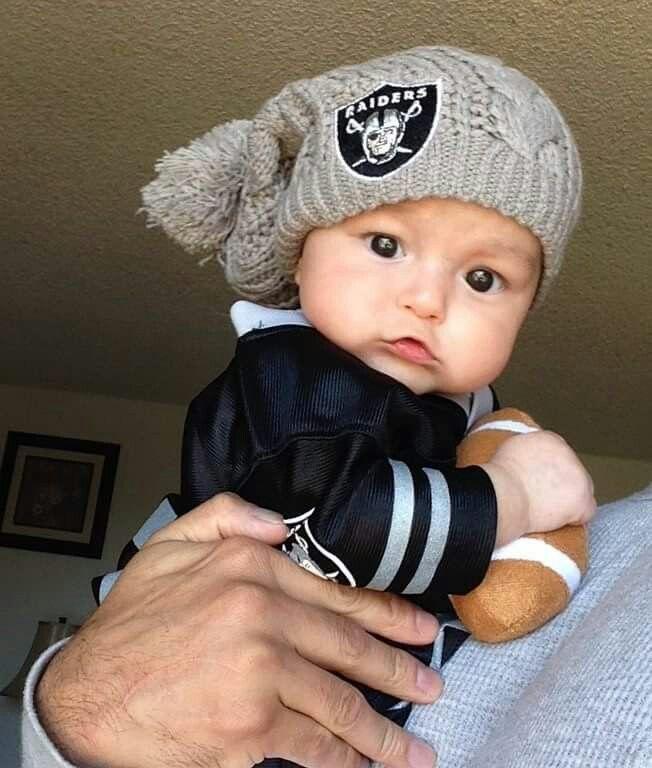 Cute Football Raiders Baby Raiders Football E Nfl