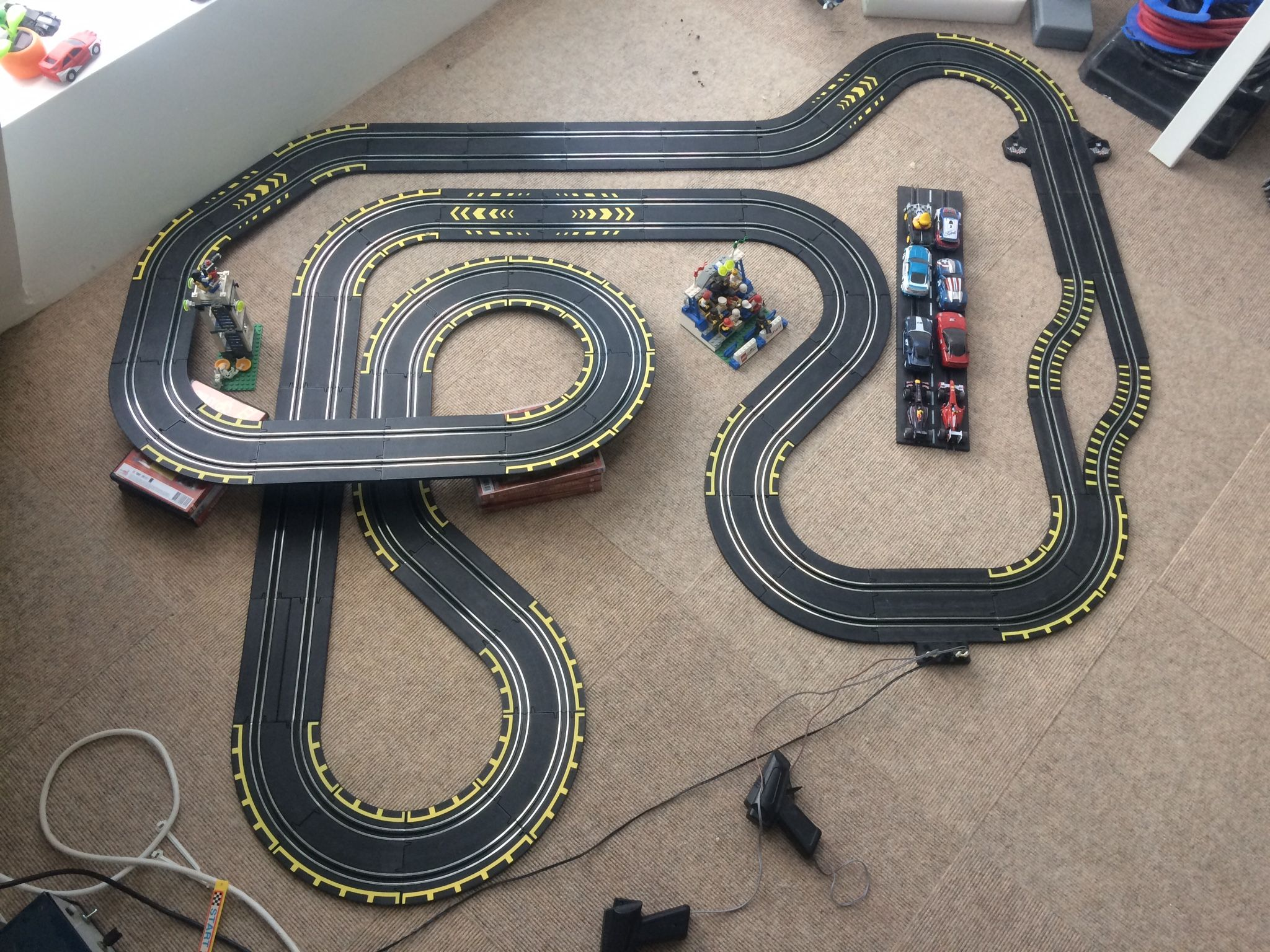 1 43 Track With Carrera Go Cars