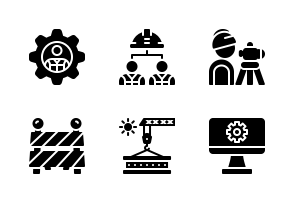 Engineering Or Engineer Icons By Aficons Studio Icon Engineering Pictogram