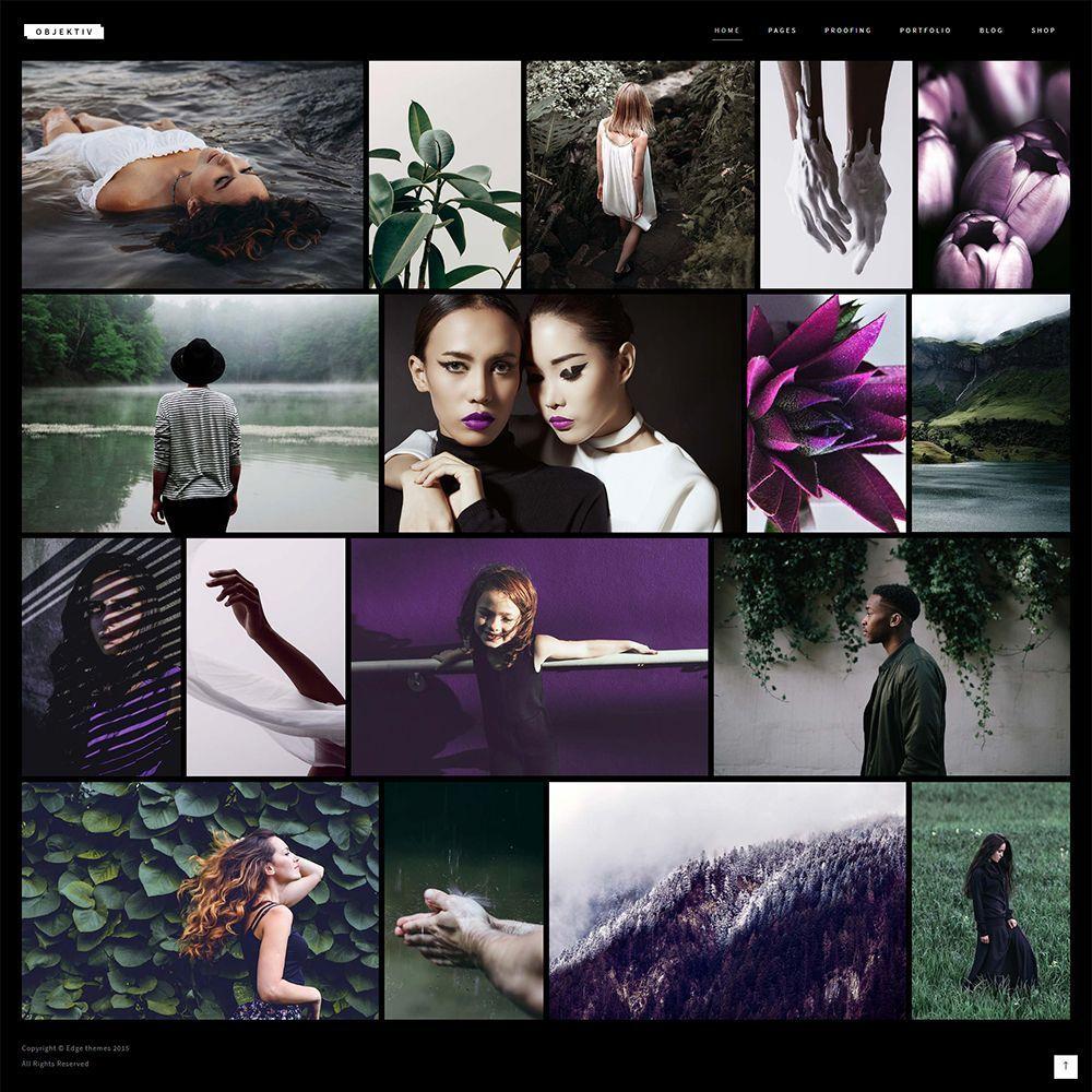 PH - Wedding Photography Portfolio WordPress Theme FREE