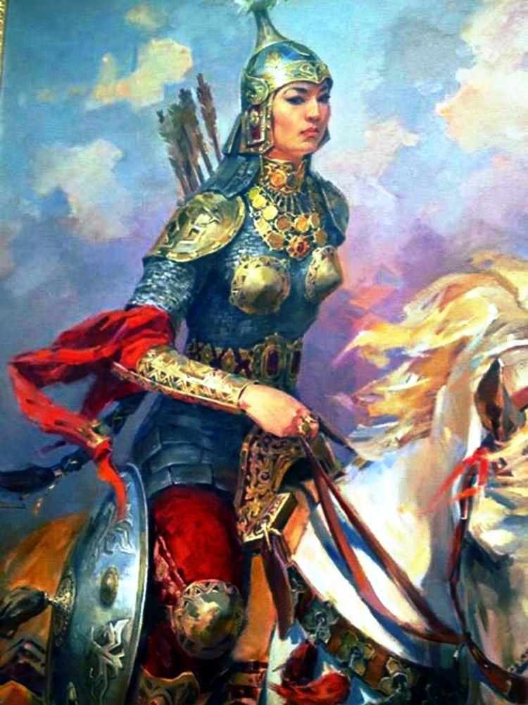 Ancient Mongolian Warriors