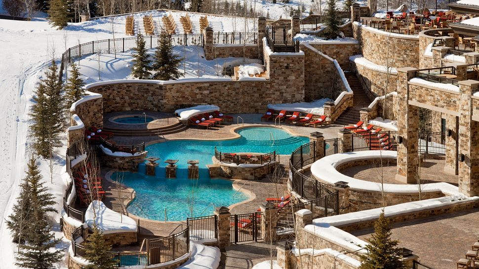 Pool And Hot Tubs The St Regis Deer Valley Resort Park City
