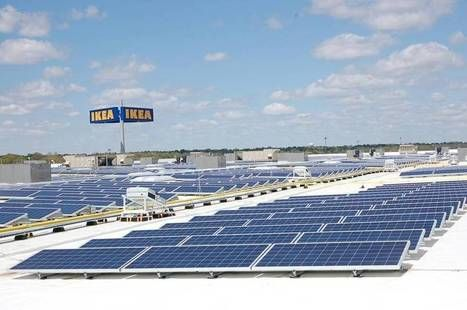 Ikea S Store In Merriam Is Now Using Solar Energy The Solar Project Which The Home Furnishings Retailer Says Is T Solar Solar Energy Diy Solar Energy System