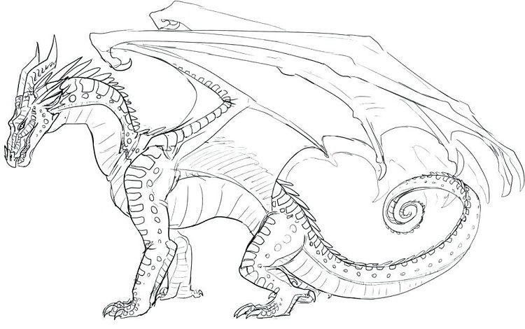 Wings Of Fire Dragons Coloring Pages Wings Of Fire Dragons Dragon Coloring Page Wings Of Fire