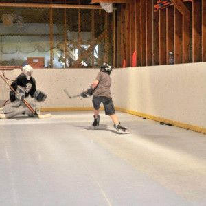 Ice Hockey · Residential Synthetic Ice Rink ...