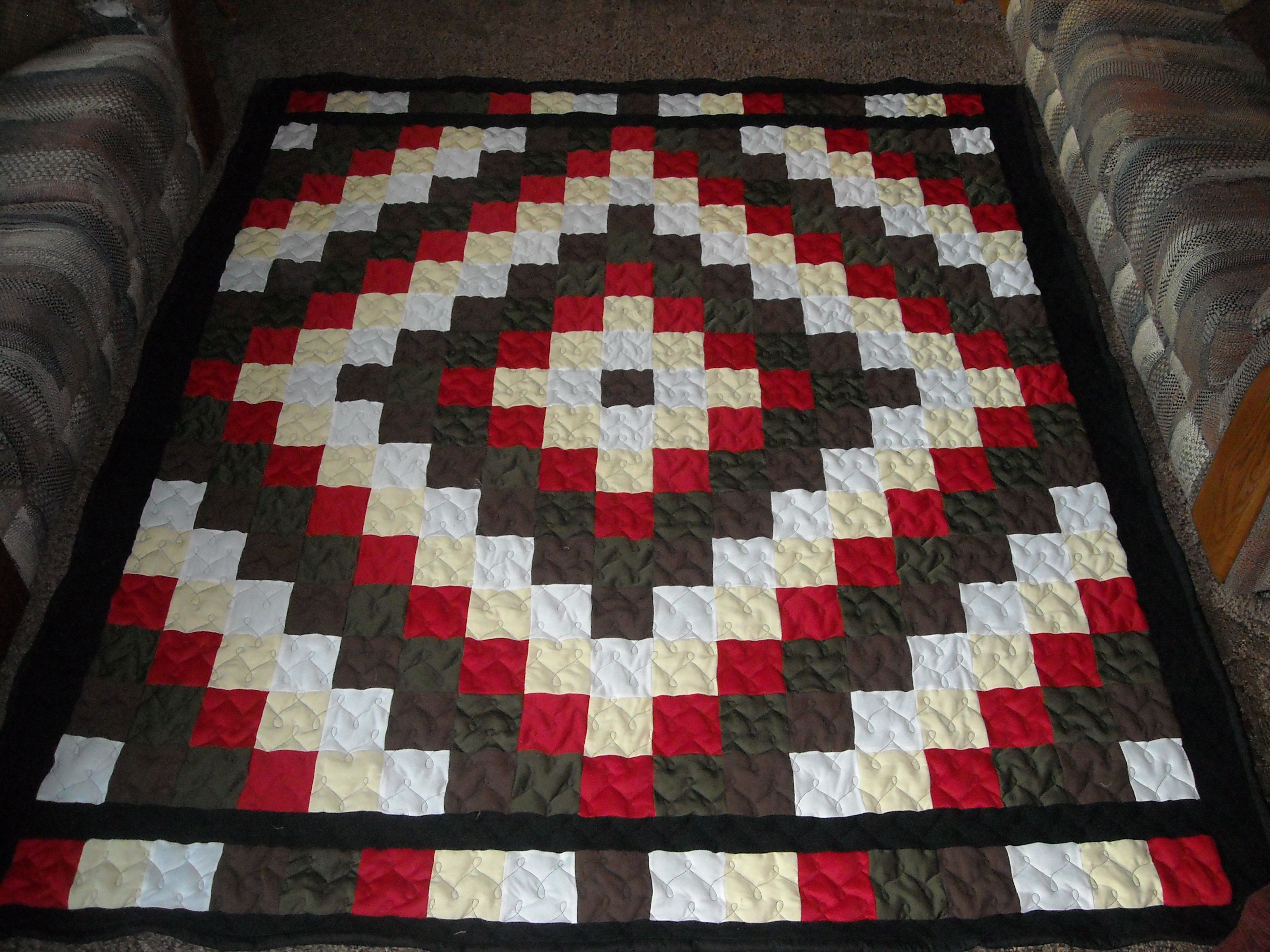 Trip Around The World Quilt By Fayza From The Quiltingboard