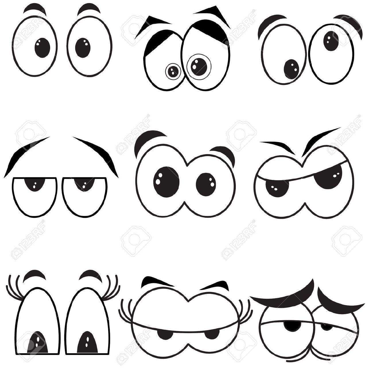 Weird Faces To Draw 8