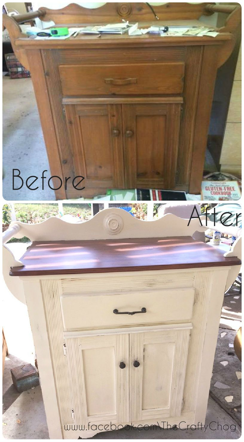 Buffet · Upcycled Vintage Bar Cabinet.