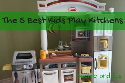 the 5 best kids play kitchens they will all encourage language and rh pinterest com