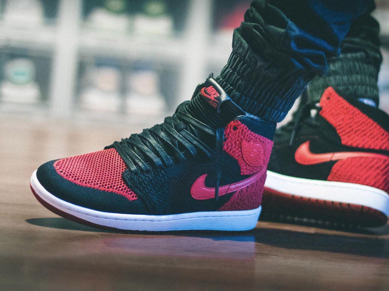 Nike Air Jordan 1 Flyknit Banned - 2017 (by maikelboeve)