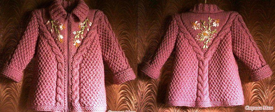 Fotos Vestidos Para Nina's Tejidos Con Agujas