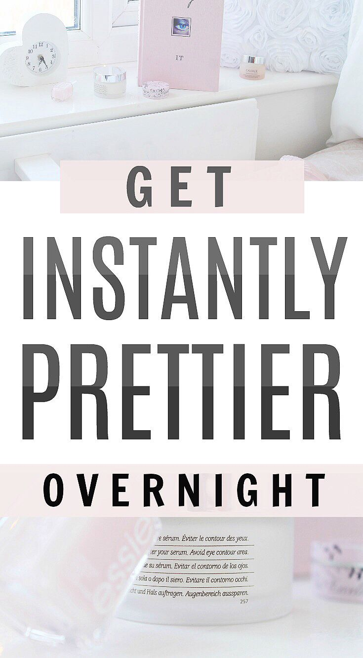 Exact secrets to look pretty overnight how to look