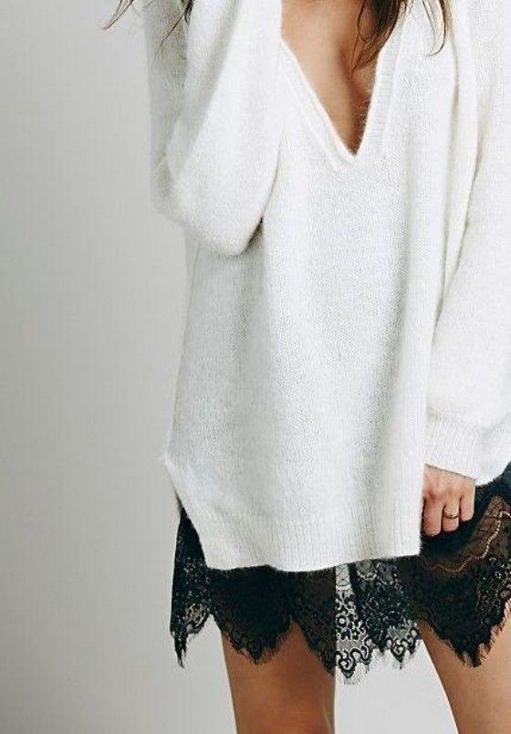 lace + knits