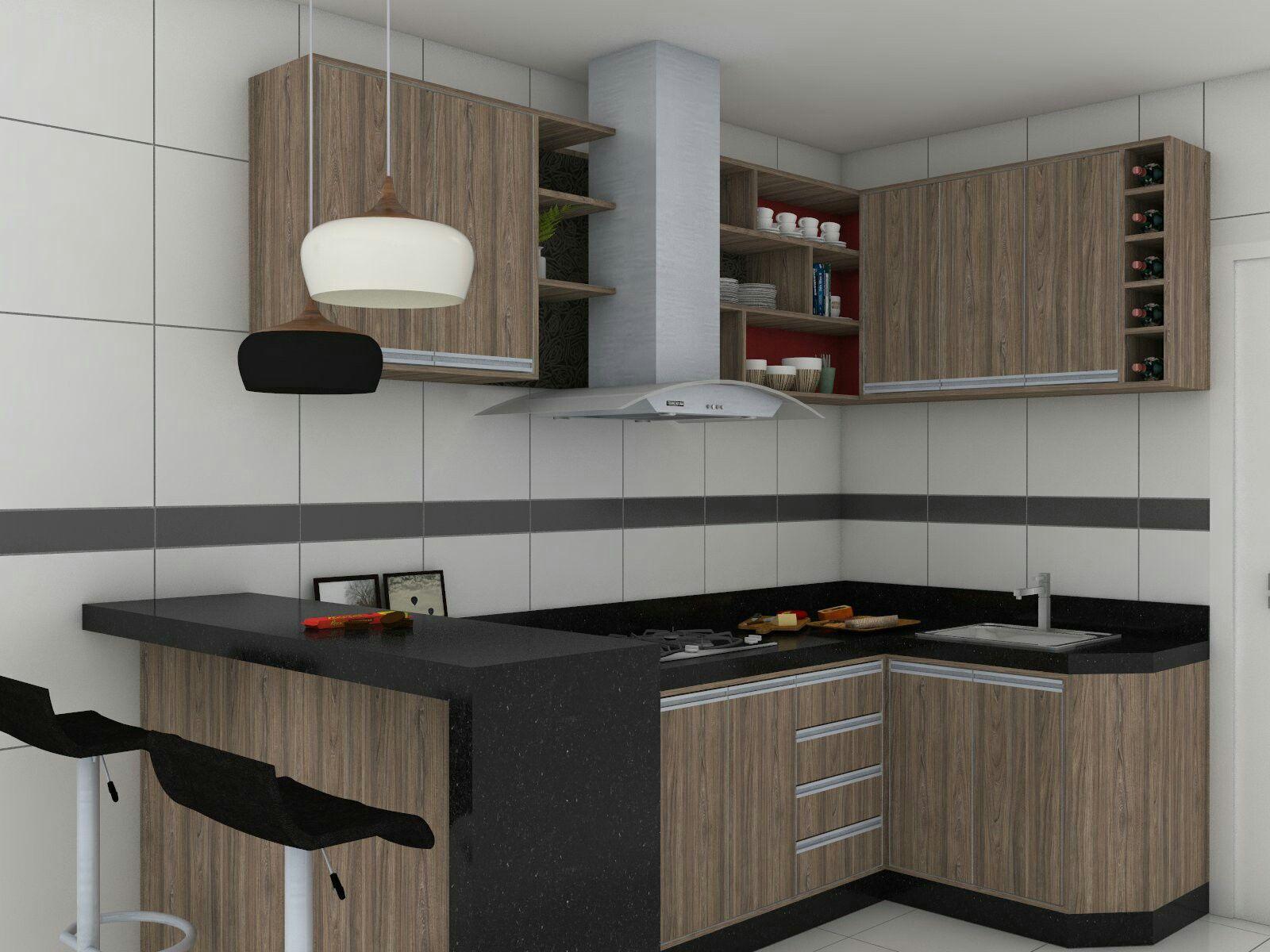 projeto de interior cozinha planejada sketchup vray interior projeto de interior cozinha planejada sketchup vray interiorsfitted kitchen