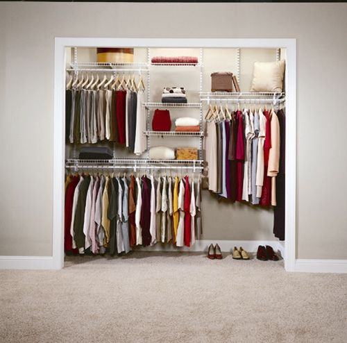 Apartment Closet Organization