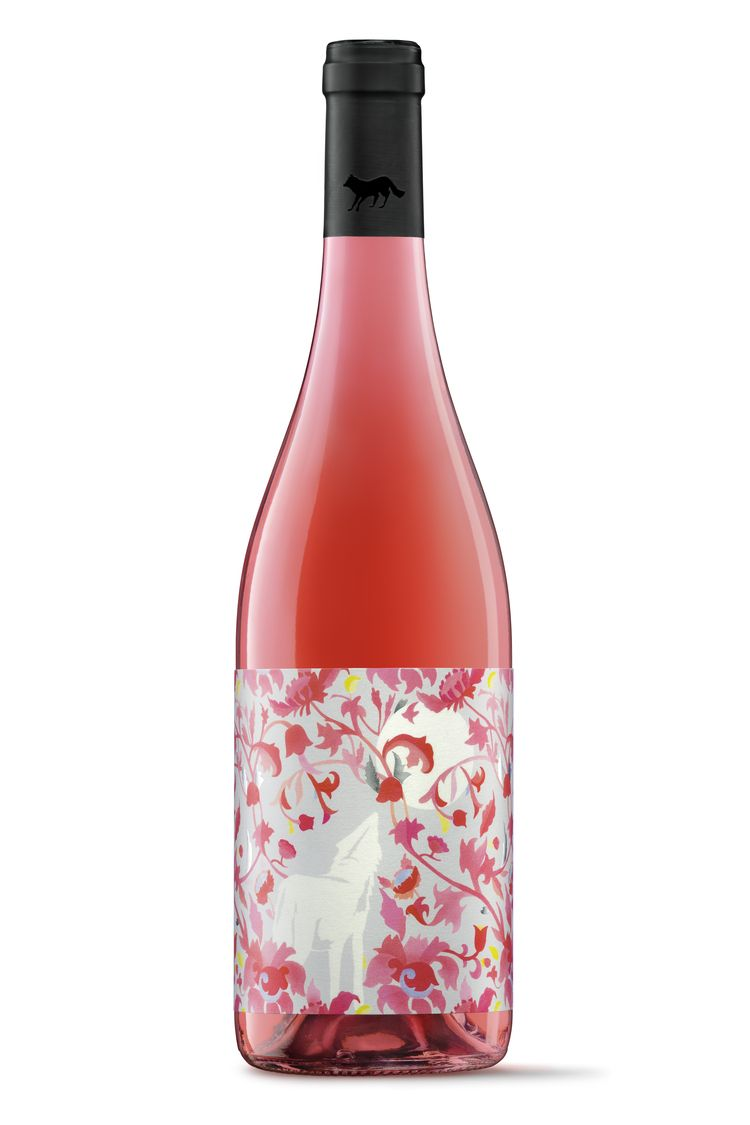 A Wolf S Strength Is In The Pack Manada Luparia Wine Packaging Rose Wine Label Wine Label Design