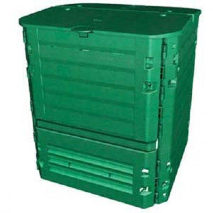 Compostiera da giardino o condominio 400 600 900 lt for Compostiera ikea