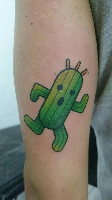 Cactuar Tattoo