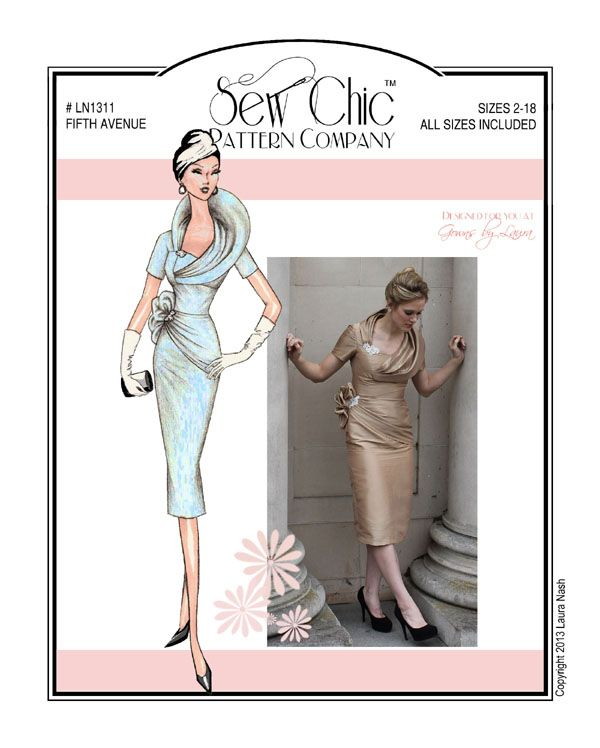 Sewing Pattern Sew Chic LN1311 Fifth Avenue