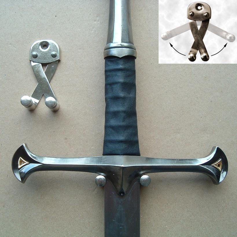 Universal Broadsword Sword Wall Hanger Re Enactment